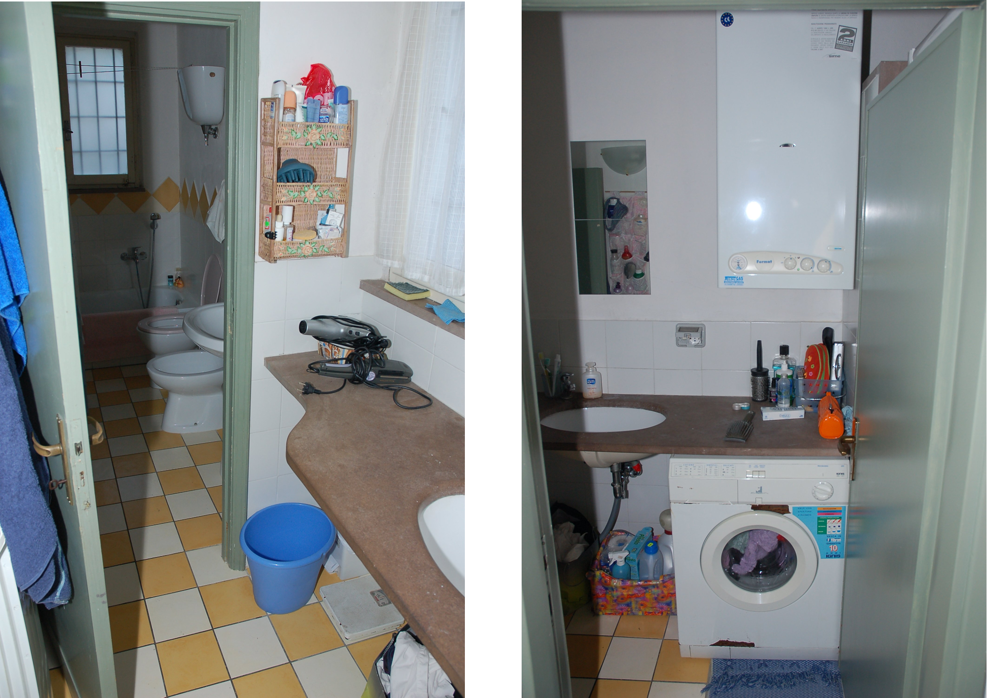 The large bathroom. Other DNA Evidence   The Murder of Meredith Kercher