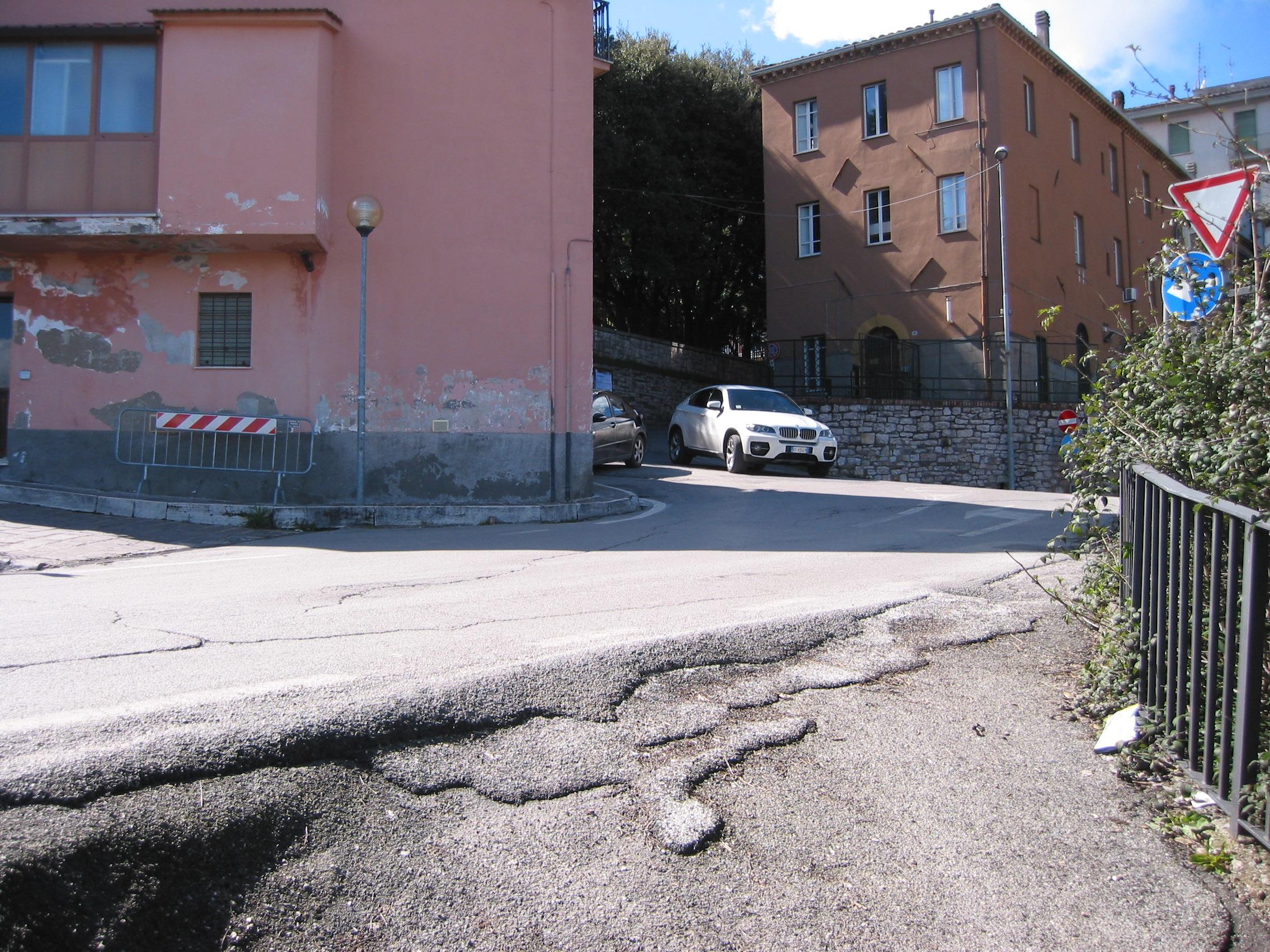 Driveway Of Via Della Pergola 7JPG